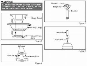 Instructions For Removing Hampton Bay Ceiling Fan And