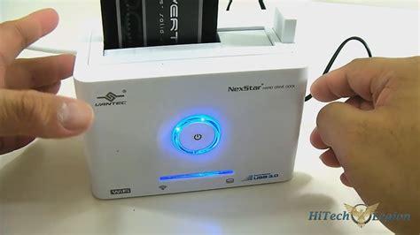 Vantec NexStar NST-D300WS3 WiFi Dock Unboxing + App ...