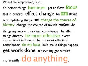 I Feel Empowered