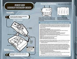 Eyeclops Mini Projector Instruction Manual