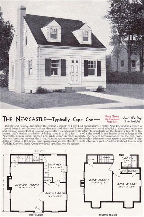 newcastle cape  house plans cape  house plans cottage house plans vintage house plans