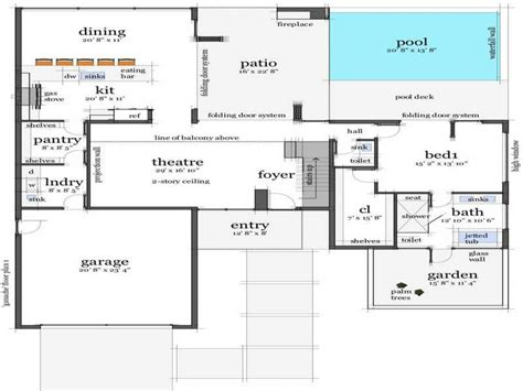 open floor plan house plans one open floor plans for house