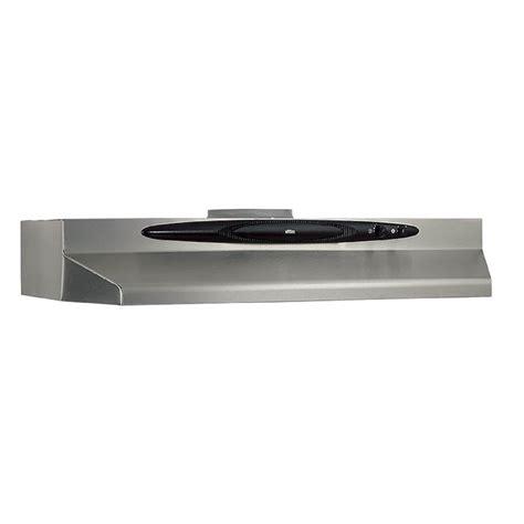 lowes under cabinet range hood broan qt230ssn 30 in undercabinet range hood stainless
