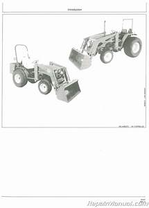 Used John Deere 410 440 Loader Operators Manual