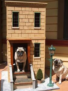 27 innovative doghouse designs diy for Cool dog kennel designs