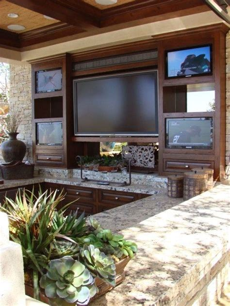 outdoor tv set up home sweet home