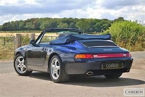 Used 1994 Porsche 911 993 Carrera 2 Cabriolet 3 6 Manual