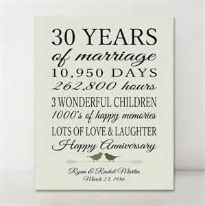 30th wedding anniversary ideas best 25 30th anniversary gifts ideas on 30th anniversary parents