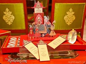 A one on one with indian wedding card designer ravish for Wedding box cards india