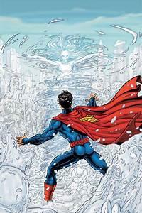 Nicola Scott Mag Superman Tekenen Preview Brainfreeze
