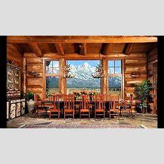 Log Home Interior Design Ideas  Youtube