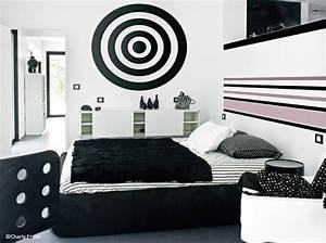 Deco Noir Et Blanc : d coration 100 noir et blanc elle d coration ~ Melissatoandfro.com Idées de Décoration