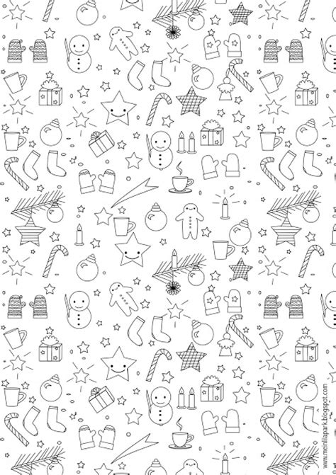 Coloring Xms Gift Wrap by Free Printable Coloring Page Ausdruckbares