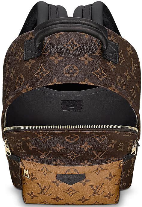louis vuitton monogram reversed palm springs backpacks bragmybag