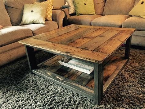 Check out the 20 contemporary designs of square coffee tables below and tell us what you think! Ana White | Rustic-Xless Coffee Table - DIY Projects