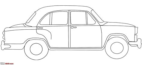 drawing outline cars drawings art gallery