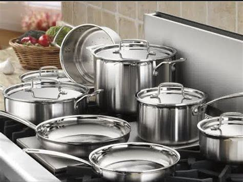 stainless steel cookware reviews stainless steel pots  pans sets cookware set