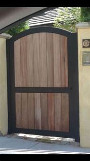 wood and metal gates iron and wood fence gate casa pinterest metal frames metals and barn doors