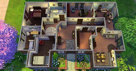 Plan De Maison Sims 4 Qf95