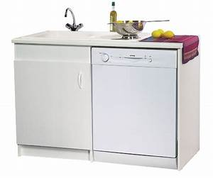 Meuble Sous Evier 120 Cm : neova meuble sous vier gamme lav 39 vaisselle neova l 120 ~ Melissatoandfro.com Idées de Décoration