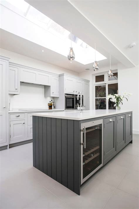 kitchen island with wine fridge a look at contemporary kitchen installation 8278