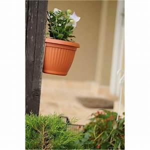Blumentopf Zum Aufhängen : prosperplast terra blumentopf halbrund zum aufh ngen 0 7 l ~ Michelbontemps.com Haus und Dekorationen