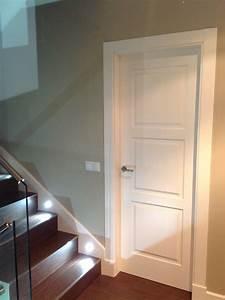 Foto: Puerta 3 Cuadros Lacada Blanco con Plintos de Bordon #1112261 Habitissimo