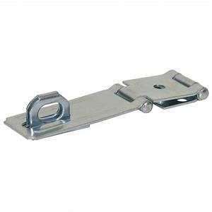 Shop Gatehouse 4-1/2-in Double Hinge Fixed Staple Safety