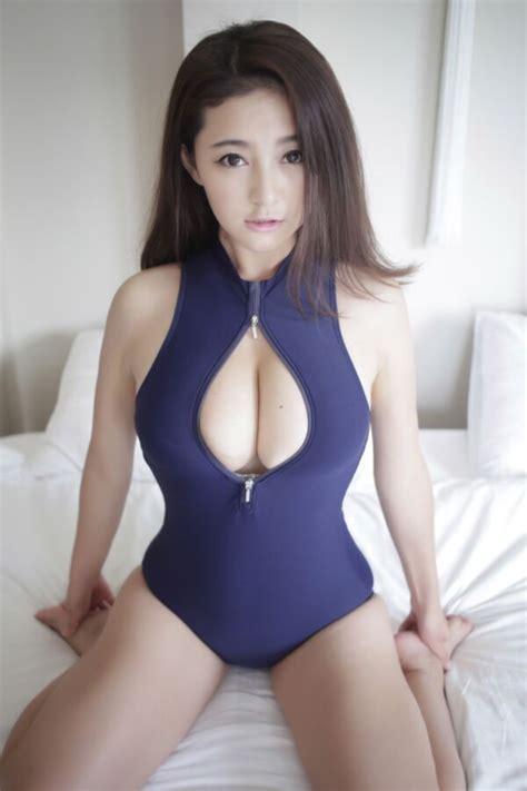 Gigi Xia Mo in One Piece Swimsuit