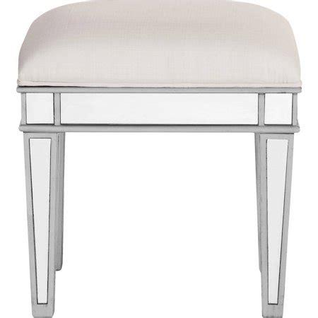 silver vanity stool lighting mirrored vanity stool silver walmart
