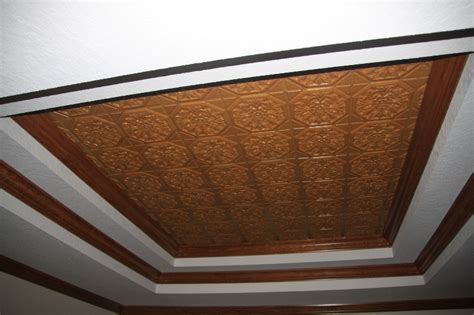 Decorative Crown Molding by Plastic Glue Up Drop In Decorative Ceiling Tiles