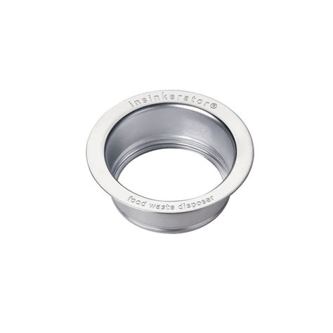 what is a kitchen sink flange insinkerator sink flange in stainless steel for