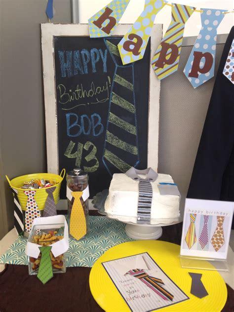 Tie Birthday Party! @ The Office #tie #boss # Birthday. Small Business Ideas In Nigeria. Bathroom Design Ideas Slipper Tub. Breakfast Ideas.co.za. Dinner Ideas Virginia Beach. Outfit Ideas Red Dress. Kitchen Design Quartz Countertops. Valentine Ideas For Toddlers. Coffee Table Ideas Houzz