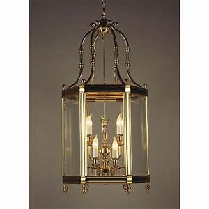 Top, Quality, Cast, Brass, Entrance, Hall, Lantern, With, 9, Candle, Lights