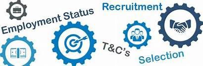 Selection Recruitment Employment Starting Status Terms Conditions