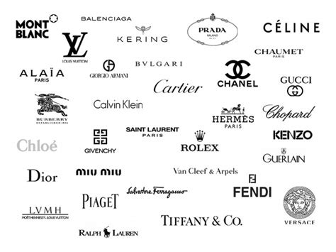 Luxury Brands Logos Images