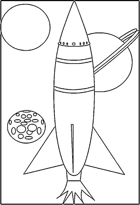 rocketship coloring pages coloring home
