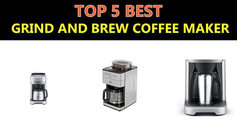 Our number one pick is the breville bes870xl because of how it uses precise water. Best Grind and Brew Coffee Maker 2020 - YouTube