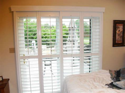 Shutters For Sliding Glass Patio Doors by Blinds For French Doors Material Cost Color Of The