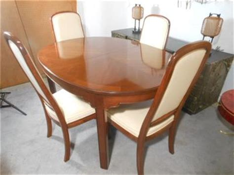 ethan allen dining table chairs used dining table ethan allen dining table chairs used