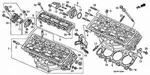 Honda Filter Assembly  Spool Valve 15826