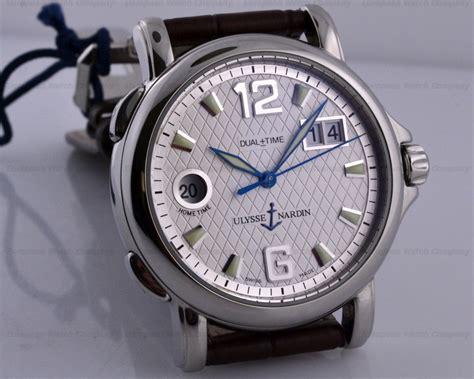 european company ulysse nardin gmt san marco gmt big date ss 40mm silver