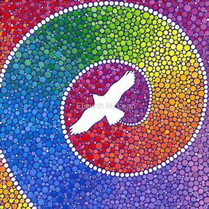 Steine Bemalen Vorlagen : healing magic from the flight of the eagle von elspeth dobres basteln pinterest ~ Eleganceandgraceweddings.com Haus und Dekorationen