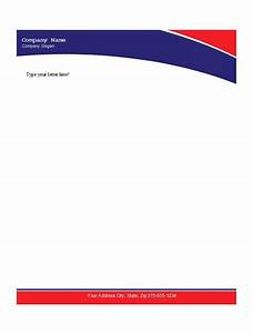 letterhead templates microsoft word convert your design With logo templates free download word