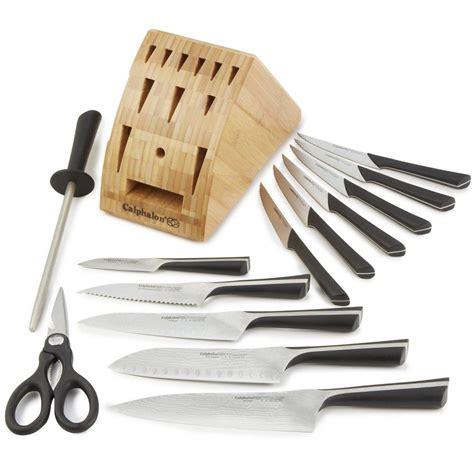 katana kitchen knife calphalon katana cutlery 14 knife set