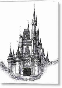 Perspective Drawing For Kids Castle