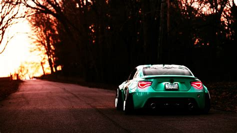 Free Car Wallpapers Automobiles Toyota by Wallpaper Green Sports Car Bbs Toyota Gt86 Coupe