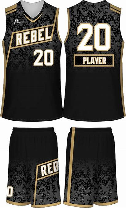 Basketball Sports Rebel Jersey Uniforms Designs Team