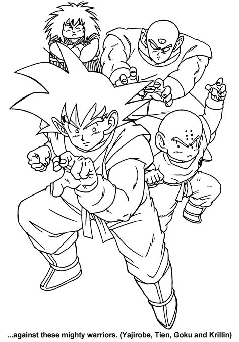 coloring page dragon ball  coloring pages