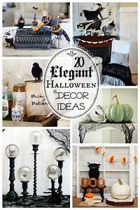 Deco Halloween Diy : 20 spooktacularly elegant diy halloween decor ideas the happy housie ~ Preciouscoupons.com Idées de Décoration